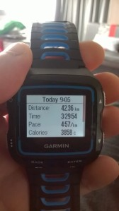 My unofficial time...